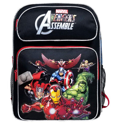 Marvel Avengers Comic Large Backpack School Bag Ironman Hulk Thor for Kids/Boys for sale  Shipping to India