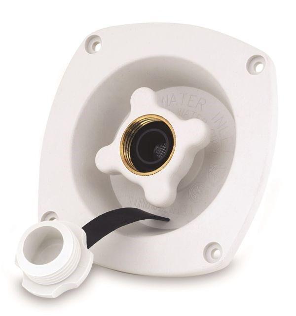 SHURFLO 183-029-14 CHROME PLATED WATER PRESSURE REGULATOR 65PSI