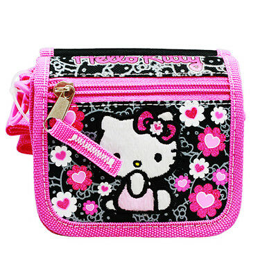 Bags Hello Kitty (Sanrio Hello Kitty Pink Kids String Purse Cross Shoulder Bag Wallet ,)