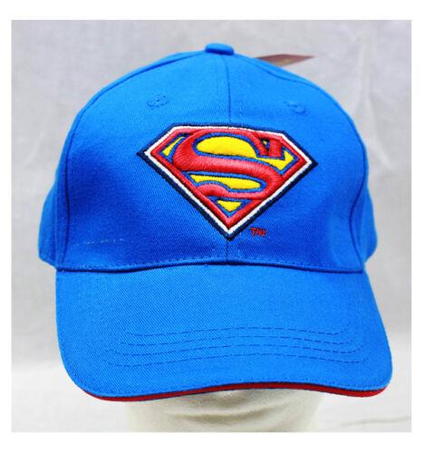 Marvel-Super-Hero-Superman-Signature-Baseball-Cap-Superman-2-tone-Cap-New