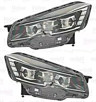 Xenon LED Headlight Front Lamp Set Fits PEUGEOT 508 Sedan Wagon 2014-