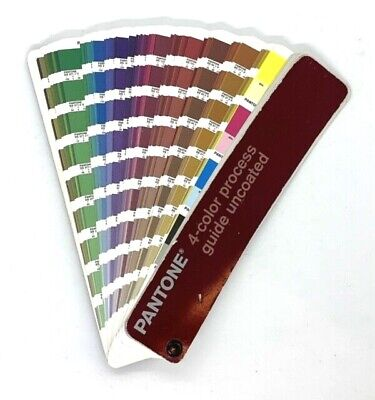 Pantone 4-color Process Guide Set Uncoated