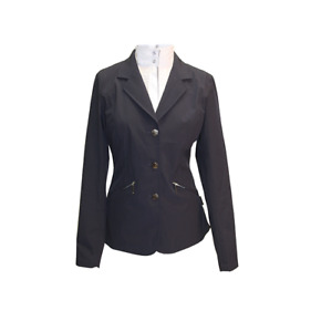 NEW - Ladies Equestrian Competition Jacket - Black & Navy