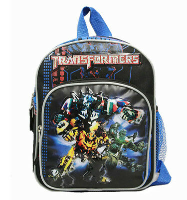 Hasbro Transformers Mini School and Outdoor Backpack Black For Kids (Transformers For Kids)