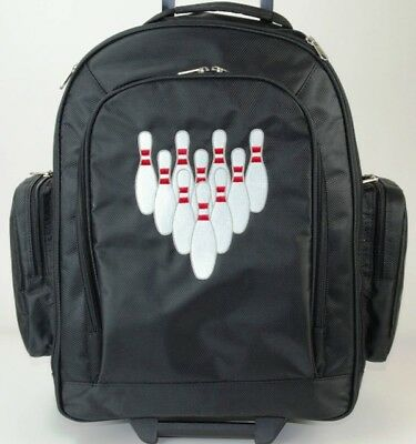 NEW XSTRIKE 1 BALL ROLLER BOWLING BAG BLACK HOLIDAY PRICE $41.95
