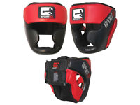 BRAND NEW boxing headguard protection mma martial arts muay thai karate contact sport head guard