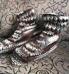 Hand Knit Slippers