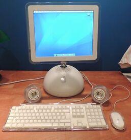 """Apple iMac G4 15"""" 800MHz Tiger10.4 55GB HD 1GB SDRAM Speakers"""