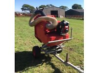 Horse paddock cleaner - equestrian manure vacuum