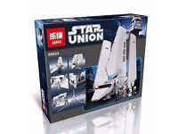 New LEPIN 05034 2503Pcs Star Wars Imperial Shuttle Model Building Kits - Children Toys Gift