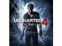 Uncharted 4 brand new still sealed ps4