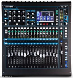 Allen & Heath QU-16 Chrome Edition Digital Mixer with Custom Flight Case