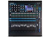 Allen & Heath QU-16 Chrome Edition Digital Mixer with Custom Flight Case