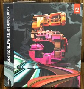 Adobe Creative Suite 5 Master Collection Upgrade - Used