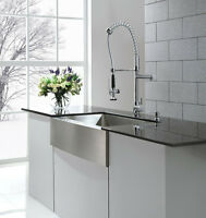 Kitchen Faucet Install $80,Vanity Install $90 Certified Plumber