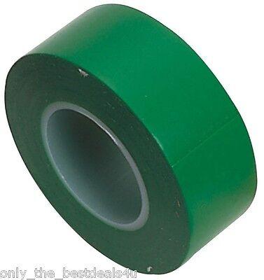 Verde Cinta Aislante Eléctrico Electrónica Cable Alambre Rollo Calidad Producto