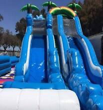 Junior/Senior Wipeout Waterslide/Dry Slide Bouncy Castle Hire Port Kennedy Rockingham Area Preview