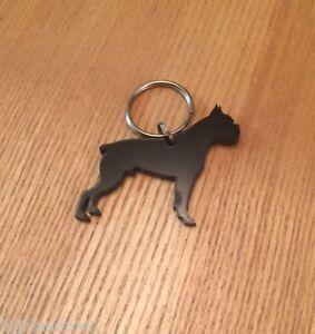 Boxer Dog Keyring/Bag Charm/Gift