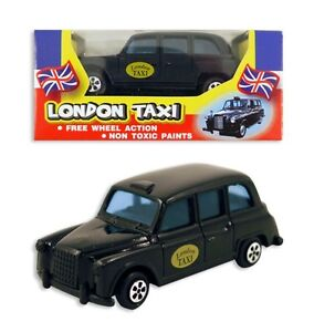 Die Cast Black London Cab Taxi  Collectibles Toy Souvenirs 3
