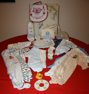 Boys Nursery Set in Keepsake Box $10.00