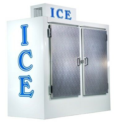 New Ice Merchandiser Ice Freezer 75 Cu Ft Upright