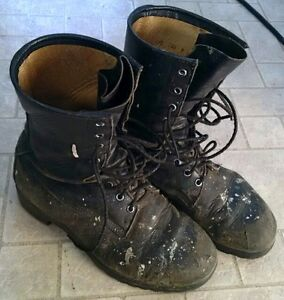 army / paintball boots, size 9.5