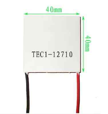 1pcs New Tec1-12710 Heatsink Thermoelectric Cooler Cooling Peltier Plate Module