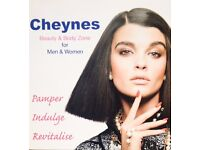 FULL AND PART-TIME BEAUTY THERAPISTS REQUIRED FOR CHEYNES HAIR & BEAUTY