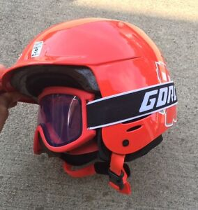 Youth size Small Downhill Ski Helmet and Googles
