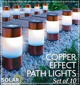 Solar copper Lights