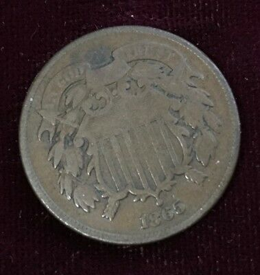 1865 TWO-CENT