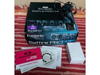 Focusrite SAFFIRE PRO 14 FIREWIRE Audio/Midi Interface - Boxed. £100 ono