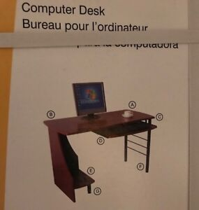 Brand New Computer Desk -Back To School must have