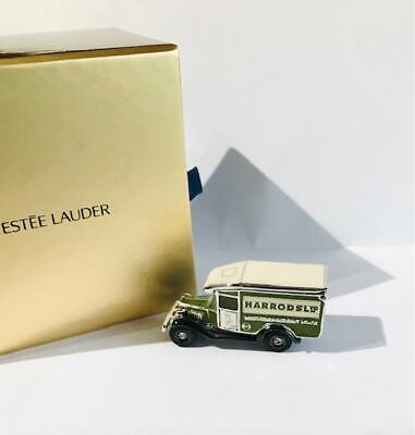 "RARE~2002 Estee Lauder/HARRODS PLEASURES ""HARRODS DELIVERY VAN"" Solid Perfume"