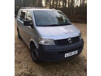 VW T5 1.9 TDI - converted into a campervan