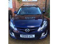 2009 Mazda Sport 6 D recent factory refurbished engine, 12 months MoT, leg injury forces sale.