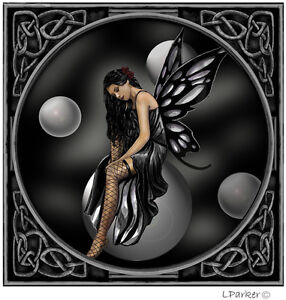gothic fantasy pagan emo Lisa parker Any occasion  birthday/blank greeting cards