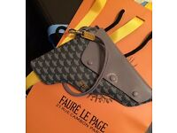 Faure Le Page Wallet Gun Pouch Grey Brand New