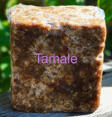 Black Soap All Natural from Ghana made with Coconut oil and Shea Butter (All 1 Soap)