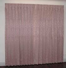Pink curtains Mount Helena Mundaring Area Preview