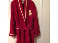 Girls Disney Store Velour Dressing Gown. Age 11/12 Years.