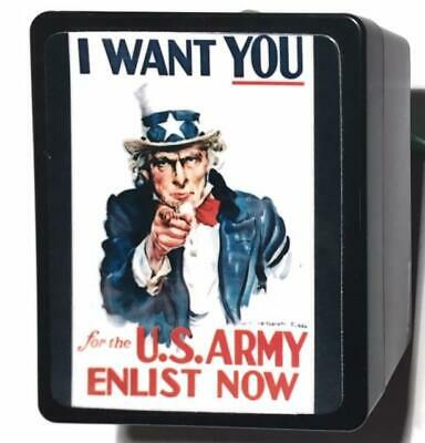 Uncle Sam I Want You James Montgomery Flagg World War I Poster Storage Box & Pad - Poster Storage Box