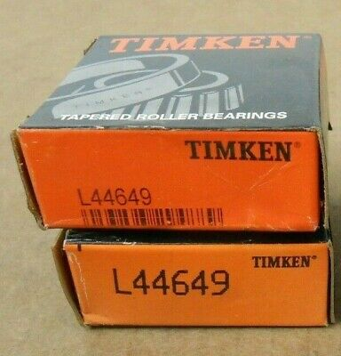 2 Nib Timken L44649 Tapered Roller Bearing Cone 1.0625 X 0.58 2 Lots Avail