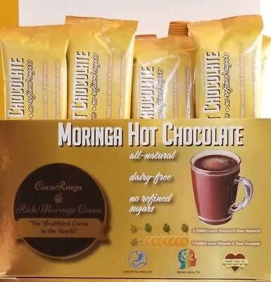 Hot Chocolate with Moringa- The Healthiest Hot Chocolate on the Planet!