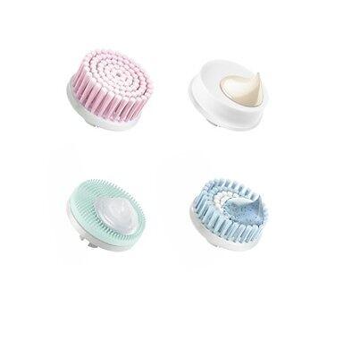 Braun Face Aufsatz-Mix SE80mv 4er Packung für Gesichtsreingigunsbürste Aufsätze