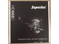 Superlux HD668B Studio Headphones