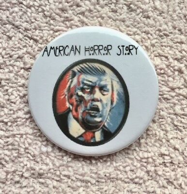 Trump Zombie Pin-Back Button 2 1/4 inch SHIPS FREE