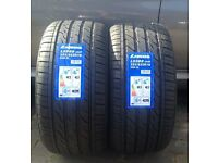CAR TYRES 255 35 18 xl 94w x2 tyre {PAIR} brand new BMW 320 330 325 M SPORT Rear Tyres