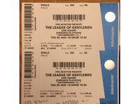 2 x Tickets League of Gentlemen Live - Edinburgh **LOW PRICE**