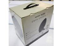 A brand new Harman Kardon ONYX STUDIO 4 Portable Bluetooth Speaker - Black. This is an unwanted gift
